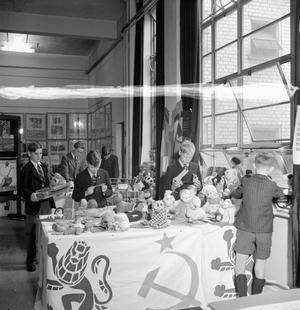EXHIBITION OF TOYS FOR RUSSIA, ST MARTIN'S SCHOOL OF ART, LONDON, 1942