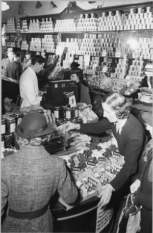 LONDON CARRIES ON: SHOPPING IN WARTIME LONDON, 1942