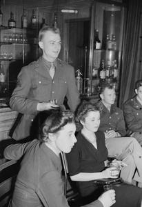 EMPIRE - AND WORLD - PARTY: RADIO BROADCAST FROM THE OVERSEAS CLUB, ST JAMES'S LONDON, 1942