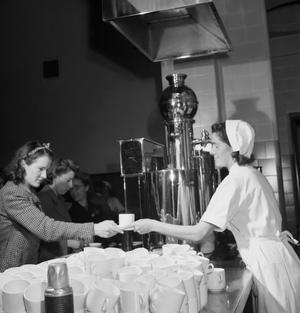 PART-TIME WOMEN WAR WORKERS, BRISTOL, 1942
