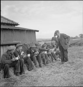 SELF-SUPPORTING VILLAGE: LIFE IN HOVINGHAM, YORKSHIRE, OCTOBER 1942