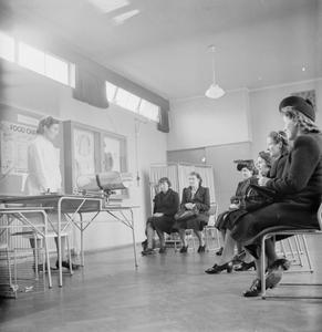 TOTTENHAM MATERNITY AND CHILD WELFARE: MOTHER AND CHILD CLINICS IN LONDON, 1942