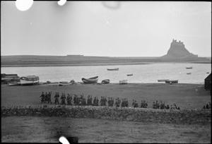 HOLY ISLAND PLAYS ITS PART: EVERYDAY LIFE ON LINDISFARNE, 1942