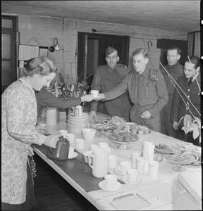 THE WAR AND MISS CRASKE: AT HOME IN LONDON AND AT WORK AT QUEEN'S COLLEGE, TAUNTON, 1943