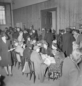 WHITEHALL CANTEEN: EATING OUT IN WARTIME LONDON, 1943