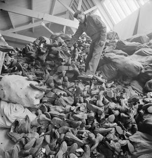BOOTS, BOOTS, TO GO UP AND DOWN IN AFRICA: THE SALVAGE AND REPAIR OF ARMY BOOTS, SOMERSET, ENGLAND, 1943