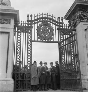 HARRY HARGREAVES GOES TO BUCKINGHAM PALACE: FROM YORKSHIRE TO LONDON TO COLLECT HIS BRITISH EMPIRE MEDAL, 1943
