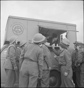 MOBILE CLUB: THE WORK OF THE YWCA MOBILE CLUB VAN IN BRITAIN, 1943