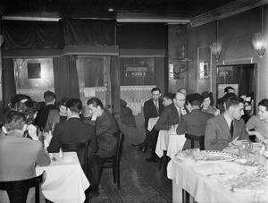 TURKEY IN LONDON: LIFE AT THE ISTANBUL RESTAURANT, FRITH STREET, LONDON, 1943
