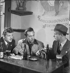 THE SEVEN SEAS CLUB: LIFE AT THE MERCHANT NAVY CLUB, EDINBURGH, SCOTLAND, 1943