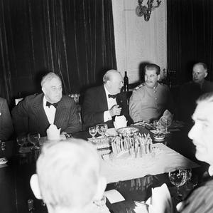 THE TEHRAN CONFERENCE, 28 NOVEMBER - 1 DECEMBER 1943