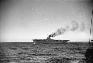 FLEET OPERATION IN THE MEDITERRANEAN. NOVEMBER 1940, ON BOARD THE DESTROYER HMS KELVIN.