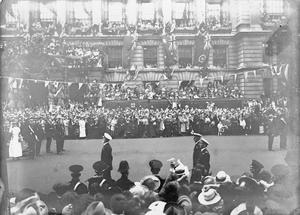 THE VICTORY PARADE IN LONDON, JULY 1919