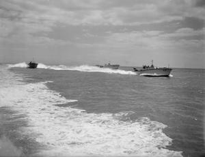 A TRIP TO SEA WITH THE MGB'S. JUNE 1941, ON BOARD A MOTOR GUN BOAT.