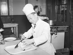 CHINESE CONVALESCENT HOME: RECUPERATION FOR SAILORS IN LIVERPOOL, ENGLAND, 1943