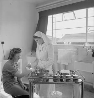 FACTORY CLINIC: HEALTH AND WELFARE FACILITIES AT A BRITISH FACTORY, 1943