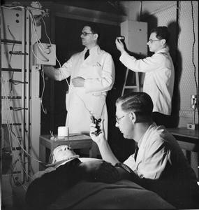 MALE NURSES: LIFE AT RUNWELL HOSPITAL, WICKFORD, ESSEX, 1943