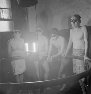 COAL MINERS: EVERYDAY LIFE IN A MIDLANDS COLLIERY, ENGLAND, UK, 1944