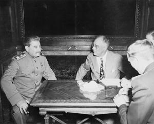THE YALTA CONFERENCE, 1945