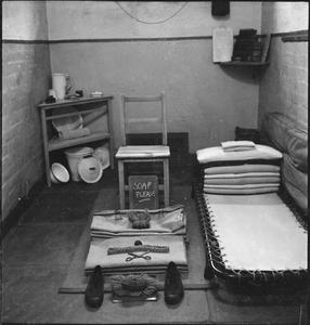 WAKEFIELD TRAINING PRISON AND CAMP: EVERYDAY LIFE IN A BRITISH PRISON, WAKEFIELD, YORKSHIRE, ENGLAND, 1944