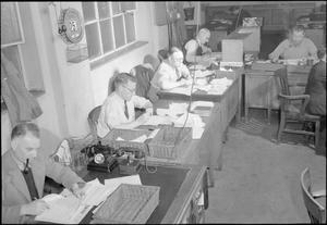 THE MAKINGS OF A MODERN NEWSPAPER: THE PRODUCTION OF 'THE DAILY MAIL' IN WARTIME, LONDON, UK, 1944