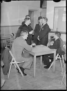 CARDIFF'S MERCHANT NAVY CLUB: REST AND RELAXATION IN CARDIFF, GLAMORGANSHIRE, WALES, UK, c MAY 1944