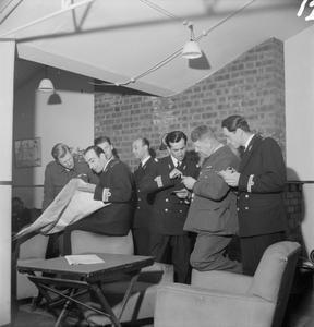 PERSIAN AIRMEN TRAIN IN BRITAIN, 1944