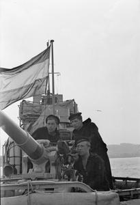 DUTCH SHIPS SERVING WITH THE BRITISH FLEET. 1941.