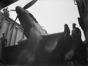 ON BOARD HMS VICTORIOUS. 6 JANUARY 1942.
