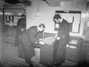 FLEET AIR ARM. 31 DECEMBER 1941, ON BOARD HMS VICTORIOUS.