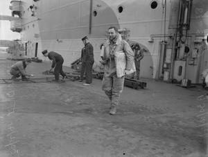 PERSONALITIES OF THE FLEET AIR ARM. 28 TO 31 DECEMBER 1941, ON BOARD HMS VICTORIOUS.