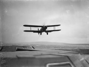 ON BOARD HMS VICTORIOUS. 20 DECEMBER 1941, ON BOARD THE AIRCRAFT CARRIER AT SCAPA FLOW.