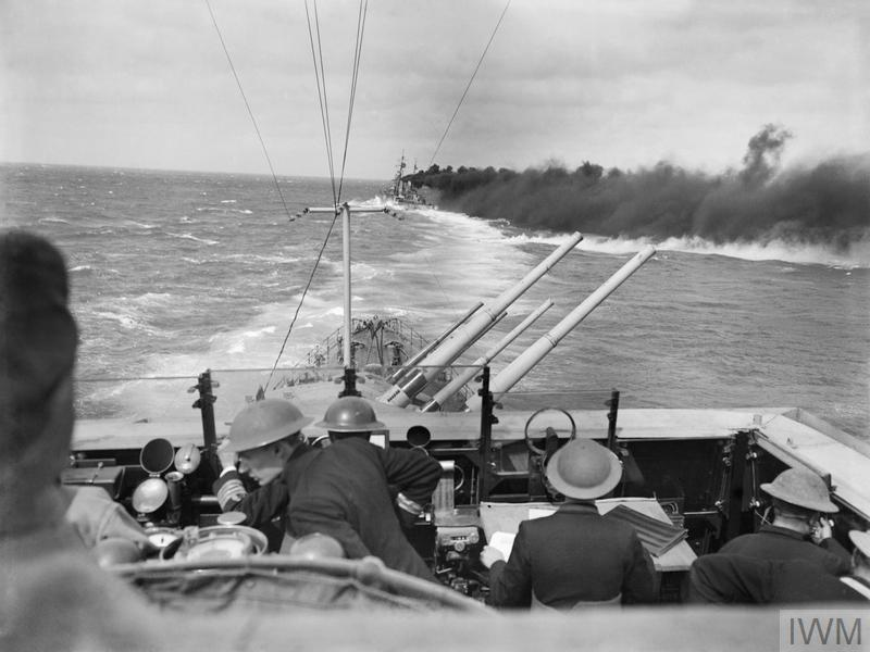 ROYAL NAVY CONVOY FROM ALEXANDRIA TO MALTA MEETS AND ENGAGES ITALIAN WARSHIPS IN THE MEDITERRANEAN, 22 MARCH 1942