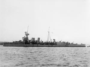 HMS CURACOA, BRITISH CERES CLASS LIGHT CRUISER. 1941.