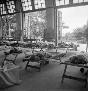 A MODEL NURSERY SCHOOL: THE WORK OF TARNER LAND NURSERY SCHOOL, BRIGHTON, SUSSEX, ENGLAND, UK, 1944