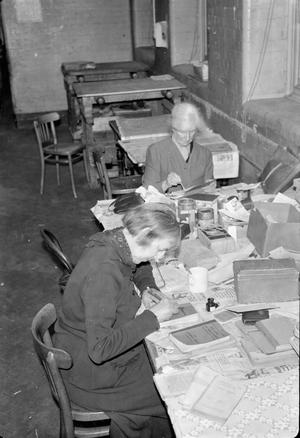 REPAIRING BOOKS FOR THE SERVICES: THE WORK OF THE SERVICES CENTRAL BOOK DEPOT, LONDON, ENGLAND, UK , 1944