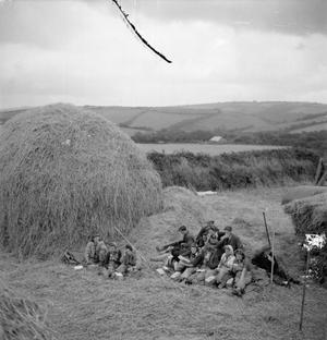 US BATTLE TRAINING AREA, DEVON, ENGLAND, UK, SEPTEMBER 1944
