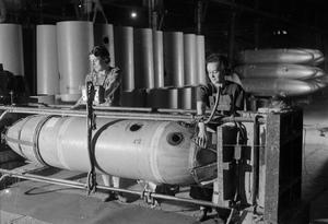 JETTISON PETROL TANKS: THE PRODUCTION OF JETTISON TANKS FOR USE BY THE UNITED STATES ARMY AIR FORCE AND ROYAL AIR FORCE, BRITAIN, 1944