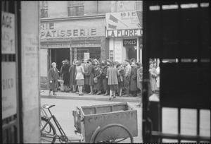 PARIS, SPRING 1945: EVERYDAY LIFE IN LIBERATED PARIS, FRANCE, 1945