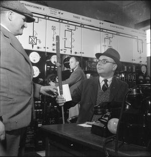 THE BRITISH GRID SYSTEM: THE WORK OF THE CENTRAL ELECTRICITY BOARD IN WARTIME, c MARCH 1945