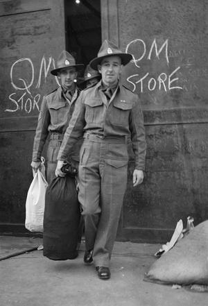 NEW ZEALAND REPATRIATES ARRIVE IN ENGLAND: EVERYDAY LIFE FOR REPATRIATED POWS IN MARGATE, KENT, ENGLAND, UK, APRIL 1945