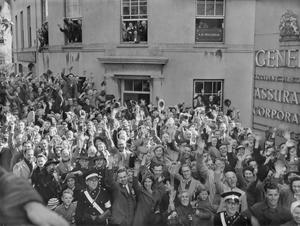 CHANNEL ISLANDS LIBERATED: THE END OF GERMAN OCCUPATION, CHANNEL ISLANDS, UK, 1945