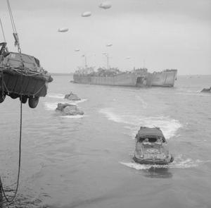 PREPARATIONS FOR THE INVASION OF NORMANDY 1944