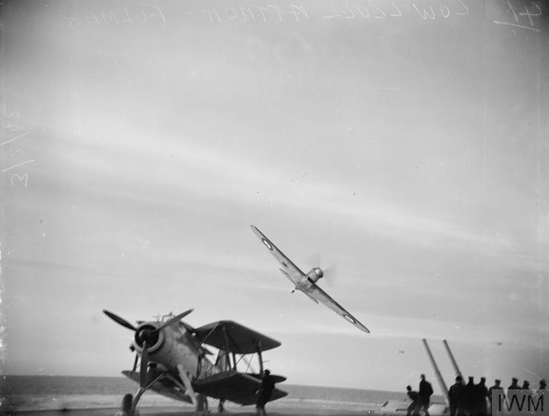 FLEET AIR ARM PATROLLING AT SEA. 3 AND 4 FEBRUARY 1942, FLEET AIR ARM AIRCRAFT FROM HMS VICTORIOUS, OFF THE CREST OF ICELAND ON PATROL.