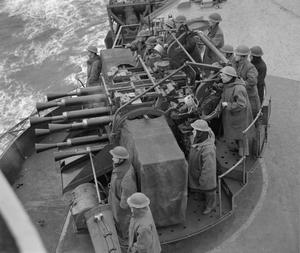 ON BOARD THE AIRCRAFT CARRIER HMS VICTORIOUS. 18 TO 21 MARCH 1942. HARBOUR ROUTINE A SCAPA AND DURING FLYING EXERCISES OFF HOY.