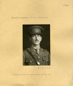 Second Lieutenant G F Whitbread