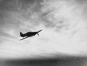 A SEA HURRICANE. 9 DECEMBER 1941, AERIAL PHOTOGRAPHS OF SEA HURRICANE AIRCRAFT OPERATING FROM ROYAL NAVAL AIR STATION YELVERTON.