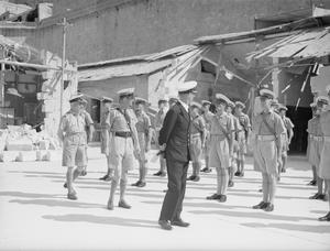 MALTA CARRIES ON CHEERFULLY UNDER UNPRECEDENTED ORDEAL. MALTA JULY 1942.