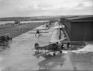 FLEET AIR ARM ACTIVITIES AT HMS SPARROWHAWK, ROYAL NAVAL AIR STATION HATSTON. MARCH 1942.