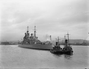 HMS KING GEORGE V.